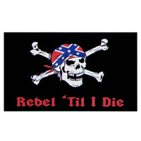 Rebel 'Til I Die Flag