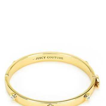 RHINESTONE GOLD BANGLE
