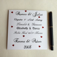 Anniversary Card, Love Card, Valentines Day Card, Marriage Card, Wedding Card, Congratulations