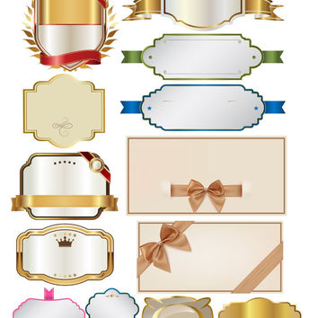 Label Image, Label Cutout, Luxury Label Templates, Wedding Labels, Shower Labels,Labe Image Pack,103 Large Cliparts,Transparent Background