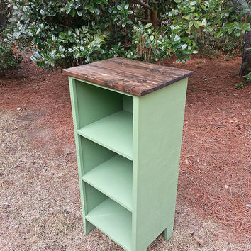 Rustic Cottage Bookcase / Chimney Cupboard