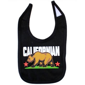 California Republic Baby Bib - Californian