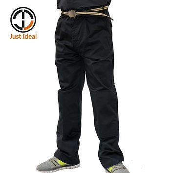 Men Cargo Pants Casual Mens Pant Multi Pocket Military Tactical Long Full Length Trousers High Quality Plus size