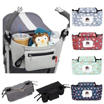 Baby Stroller Bag For Baby Care Maternity Nappy Bag Thermal Insulation Diaper Bag Waterproof Organizer For Mummy Travelling