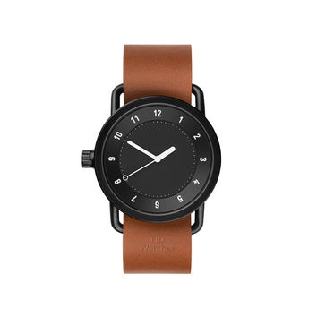 TID Watches — No.1 Black Tan Watch