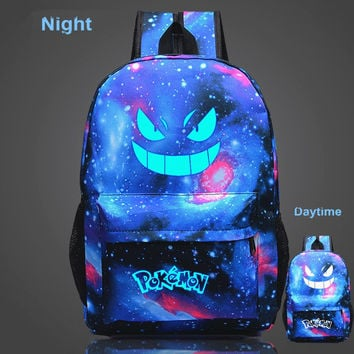 Glow In The Dark Pokemon Go Backpacks [21 Styles]