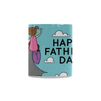 Father's Day-Father-Daughter Classic White Coffee Mug