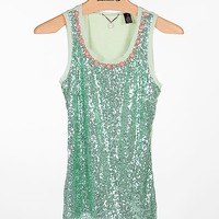 BKE Boutique Raw Edge Tank Top