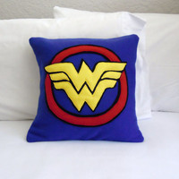 Wonder Woman Fleece Pillow, DC Comics