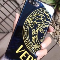 Versace   Tempered Glass Iphonex Case Of The Iphonex Shell