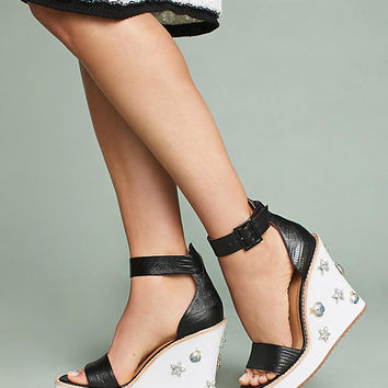 Bill Blass Dansby Wedge Sandals