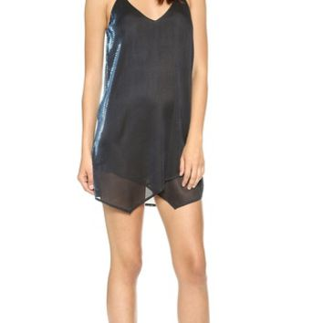 Mason by Michelle Mason Slip Dress