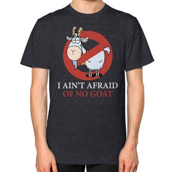 Bill murray cubs shirt - I Ain't Afraid Of No Goat Shirts Unisex T-Shirt (on man)