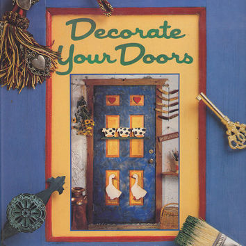 Decorate Your Door Edie Stockstill Book by 7thStash on Etsy