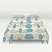 Pebbles Duvet Cover by Hedehede