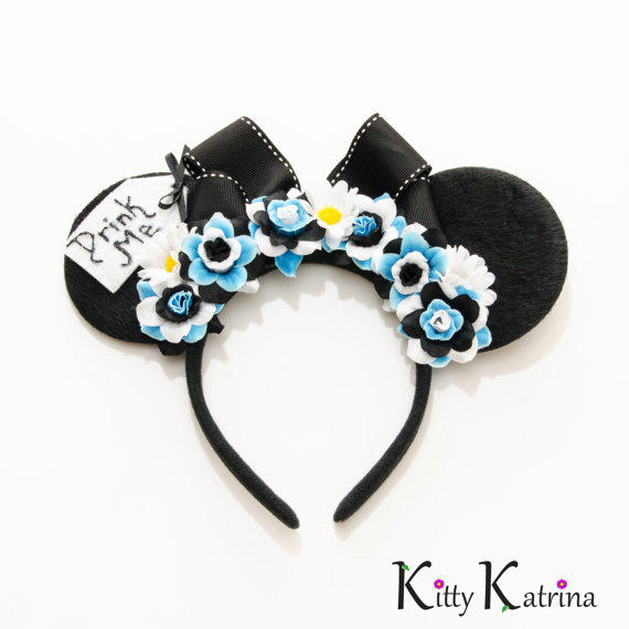 Alice Mouse Ears Inspired Headband Alice From
