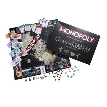 Game Of Thrones Collector's Edition Monopoly Board Game