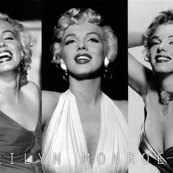 Marilyn Monroe 3 pictures Poster