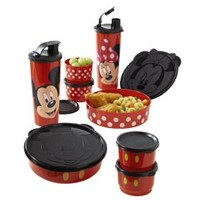 Tupperware | Mickey or Minnie Magical Snack Set