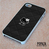 Hello Kitty Logo Black iPhone 4 | 4S Case Cover
