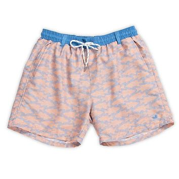 Dockside Swim Trunk - School's Out by Southern Marsh