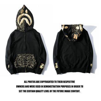 Men's Fashion Embroidery Hats Strong Character Zippers Hoodies Jacket [1016606195748]