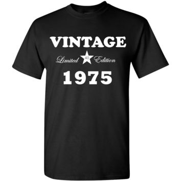Vintage Birthday T-Shirt Limited Edition  T-shirt with Age and Year