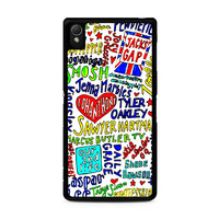 Quotes The Youtubers Sony Xperia Z3 Case