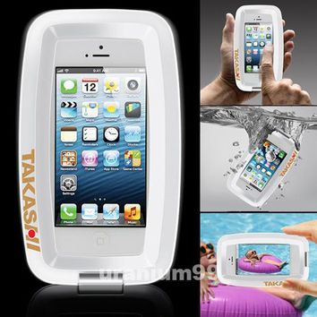 TAKASHI XX-C1 Waterproof Case For iPhone 4/4S/5 iPod Touch, Smartphones WHITE