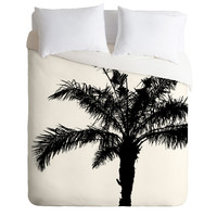 Deb Haugen B And W Square Duvet Cover