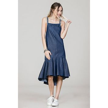 Denim On The Fray Dress