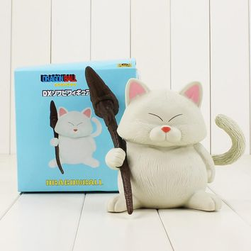 14cm Dragon Ball Z Karin Sama white cat figure model toy kawaii neko sennin Korin action PVC Figure Model for kids gifts
