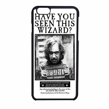 Sirius Black Wanted Poster Iphone 6S Case