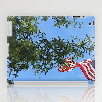 American Flag  iPad Case by KCavender Designs