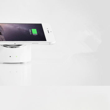 Non-slip Wireless Phone Power Charger Dock & Stand for iPhone 6 6s plus, Samsung Galaxy S6 S4 S5