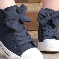 00-Bow Canvas Shoes-77-05 from thankyoutoo