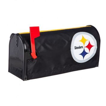 "Pittsburgh Steelers 20"" x 18"" Mailbox Cover"