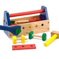 Melissa & Doug Take Along Tool Kit Wooden Toy