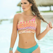 Turquoise Two Piece Swimsuit