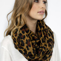 Leaping Leopard Scarf $11