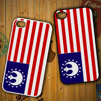 Star Wars Rebel Alliance Flag X0776 LG G2 G3, Nexus 4 5, Xperia Z2, iPhone 4S 5S 5C 6 6 Plus, iPod 4 5 Case