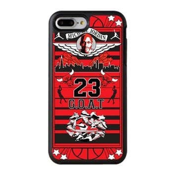 Michael Jordan Too Fly iPhone 8 Plus Case