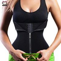 New Style Seamless Hourglass Zipper Waist Trainer Corset for Weight Loss