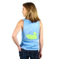 Authentic Tank in Breaker Blue by Southern Marsh
