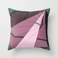 Shape Abstract Throw Pillow by Ducky B