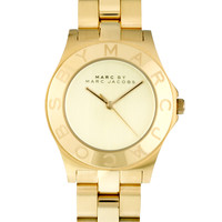 Marc By Marc Jacobs | Marc By Marc Jacobs Blade Gold Watch at ASOS