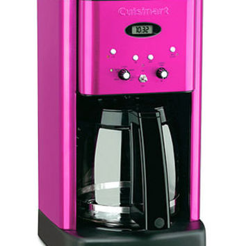 Cuisinart DCC-1200 Coffee Maker, 12 Cup Metallic Pink Brew Central - Coffee, Tea & Espresso - Kitchen - Macy's