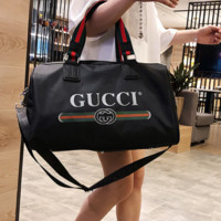 GUCCI & CK 2019 new travel light travel bag large capacity fashion trend letter print handbag