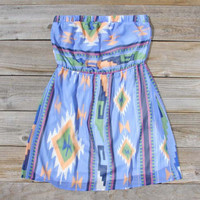 Ancient Meadow Dress in Blue