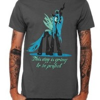 My Little Pony Queen Chrysalis T-Shirt Size : X-Large